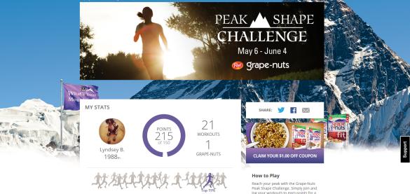 peak shape challenge
